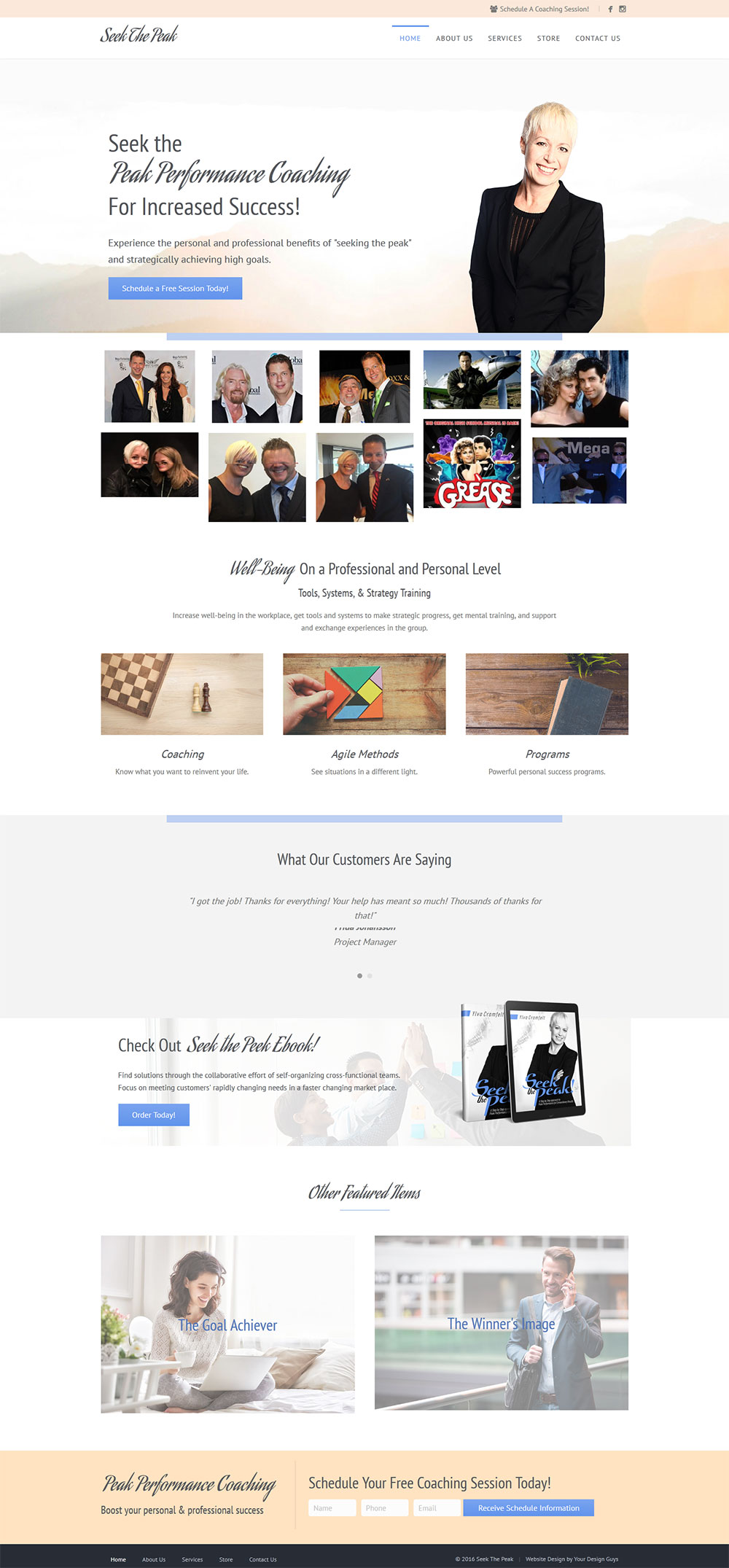 Our Affordable Professional & Custom web design Work